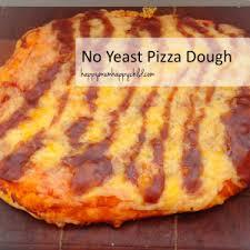 No Yeast Pizza Dough Recipe