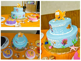 Bubble Guppies Cake Decorating Kit by Ocean Themed Cake Nemo Cake From Safeway Minus Kit Added Bubble