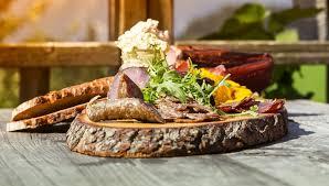 restaurant gasthof in golling bio berggasthof bachrain