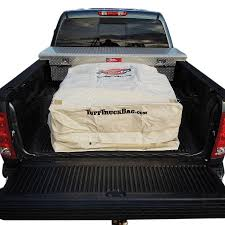 100 Truck Bed Bag F150 Super Duty Tuff Cargo Storage Khaki TTBTAN