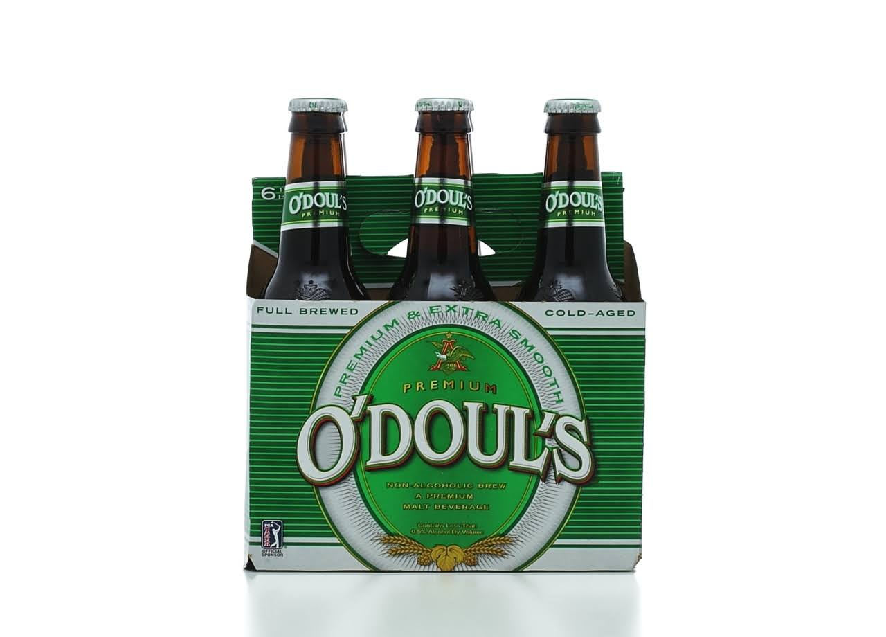 O'Doul's Malt Beverage - 6 x 12oz