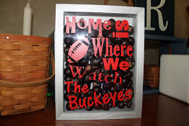 Ohio State Pumpkin Carving Patterns by Ohio State Decor Home Is Where We Watch The Buckeyes Shadow