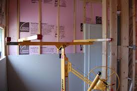 hanging drywall on ceiling tips drywall 101 hanging wallboard by yourself other learned