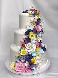 Garden Flowers Butterflies Birthday Flowing Simple Girlly Adult Wedding