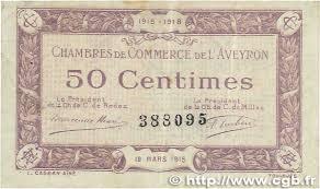 chambre de commerce rodez 50 centimes regionalism and miscellaneous rodez et millau
