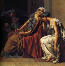 Jacques Louis David And The Oath Of Horatii Detail
