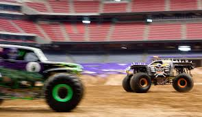 Monster Jam At The Reliant Stadium - San Antonio Express-News