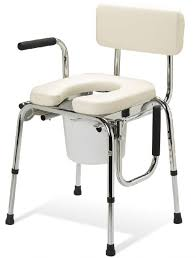 guardian padded drop arm commode free shipping