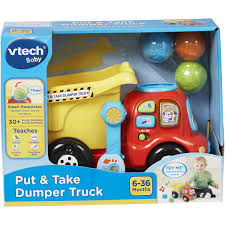100 Balls Hanging From Truck VTech Put Take Dumper