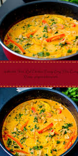 Thai Pumpkin Curry Soup Recipe by Authentic Thai Red Chicken Curry Easy Thai Curry Recipe Thai