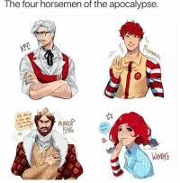 Memes And Apocalypse The Four Horsemen Of A Din