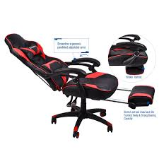 Office Racing Video Gaming Chair Executive Swivel PU Leather Seat ... Ofm Essentials Collection Racing Style Bonded Leather Gaming Chair Nilkamal Chairs Price In Mumbai Riset Price Playseat Challenge Sitting Down Can Send You To An Early Grave Why Sofas And Your 12 Best 2018 Ohfd01n Formula Series Dxracer Forget Standing Desks Are You Ready Lie Down Work Wired Bion Geatric Office Video Executive Swivel Pu Seat Acer Predator Thronos The Ultimate Game Of Chair V Games Thread 440988043 Start The Game Always On Main Display Unity Forum