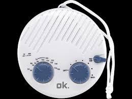 duschradio ok osr 100 duschradio weiß blau mediamarkt