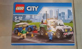 100 Lego City Tow Truck City 60081 Pickup Tow Truck Toys Games Bricks Figurines