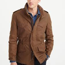 J.crew Wallace & Barnes Waxed Cotton M-65 Jacket In Brown For Men ... Jcrew Wallace Barnes Pieced A2 Bomber Jacket In Green For Men Jcrew Mens Lweight Military Jacket Garment Cpo Black Lyst English Wool Turtleneck Sweater Sherpacollar Contrast August 2016 Style Guide Pleated Shorts Guides Shetland Cardigan Military Denim Workshirt Sussex Quilted Marled Cotton Anchorknit Japanese Blue Shortsleeve Indigo Sweatshirt