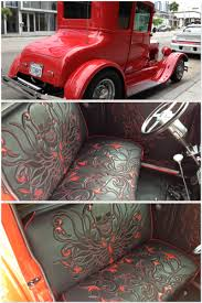 1927 Ford Hot Rod Interior By Logan Riese Studios | Custom ... Bench Chevy Truck Seat Soappculture Com Fantastic Photos Upholstery Outdoor Fniture Buffalo Hide Car Summer Leather Cushion Reupholstering The Youtube How To Recover Refinish Repair A Ford Mustang Amazoncom A25 Toyota Pickup Front Solid Charcoal 1956 Reupholstered Part 1 Kit Replacement For And Seats Carpet Headliners Door Panels To Clean Suede It Still Runs Your Ultimate Older Auto Interior Customizing Shops Best Accsories Home 2017 01966 Chevroletgmc Standard Cab U104