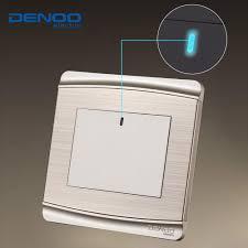 best denoo luxury wall switch panel led panel light switch tap