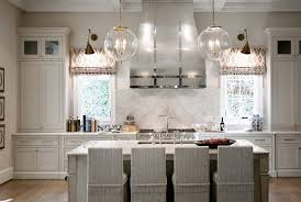 kitchen island chandelier with clear glass globe shade