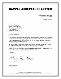 40 Professional Job fer Acceptance Letter & Email Templates