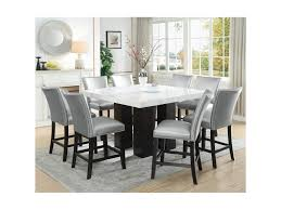 Camila 9 Piece Counter Height Dining Set With Marble Top By Prime At Prime  Brothers Furniture Luciana Presso Brown 5 Pcs Faux Marble Top Ding Table Set 30 Most Terrific Counter Height Ding High Top Room Table Camelia Espresso Round Glass With Inverted Base By Crown Mark At Dunk Bright Fniture Kitchen Amazing And Chairs Ktaxon Piece Set 4 Leather Chairsglass Fnitureblack Marble Effect Ding Table And Chairs Snnonharrodco Room Giveandgetco W Dinette Black White Rectangular Belfort Essentials Giantex Padded Metal Frame For Breakfast Verano 5pc Contemporary 45 Steve Silver Rooms Less D989 Wglass Grey Global Woptions