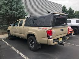 100 Truck Cap Locks AluCab Explorer Canopy For Toyota Tacoma Tacoma Bed Shell