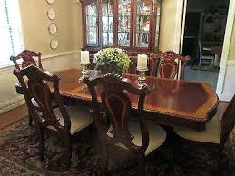 Havertys Kitchen Table Sets Dining Room Set And China Hutch Size With Extra Tulum