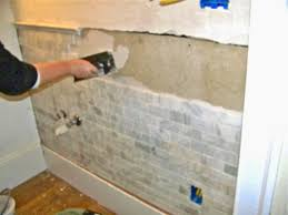 remodelaholic complete bathroom remodel with marble subway tile