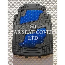 citroen xsara picasso pvc aluminium bleu tapis de sol 4 pièces