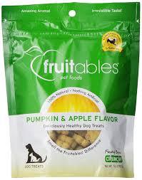 Pumpkin Causes Dog Diarrhea by Amazon Com Fruitables Pumpkin U0026 Apple Crunchy Dog Treats 1 7 Oz