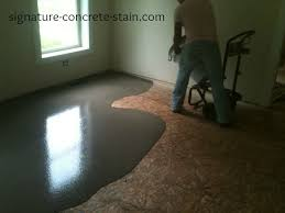 ardex liquid backerboard over wood subfloor to allow stained