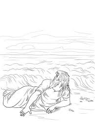 Find This Pin And More On Bible Class Divided Kingdom Jonah Vomited Out Coloring Page