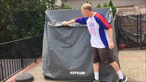kettler outdoor table tennis cover review youtube