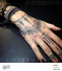 Female Hand Tattoo Designs