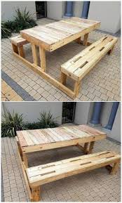 Build A Picnic Table Out Of Pallets by Diy Kids Picnic Table From Pallet Wood Kids Picnic Picnic
