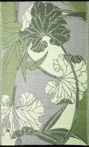 Reversible Patio Mats 8 X 20 by Blossom Rv Mat Outdoor Rug B B Begonia