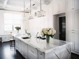 kitchen contemporary white kitchen ideas with brick wall small