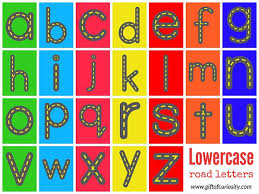 The 25 Best Printable Alphabet Letters Ideas On Pinterest