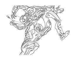 Ant Man AntMan Power Coloring Pages