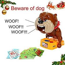 TONOR Beware Of Barking Dog Novelty Prank Toy Gag Gift Board Game For Kids Family