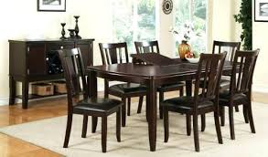 Dining Table With Six Chairs And Extendable Picture