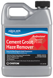 Removing Grout Haze From Porcelain Tile by Aqua Mix Cement Grout Haze Remover Custom Building Products