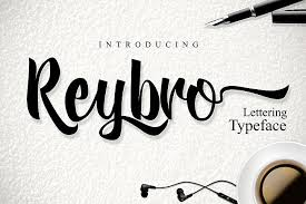 Reybro Free Font of The Week Expired Free Font of The Week