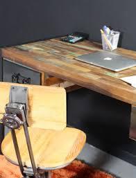 bureau industriel metal bois bureau industriel bois et métal vintage made in meubles