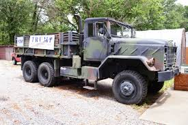 100 5 Ton Military Truck Nice And Solid 1984 AM General M923 For Sale