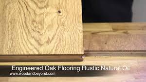 100 Peak Oak Flooring Engineered Rustic Natural Oil Review