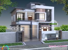 100 India House Designs 35x 55 5 Bedroom Modern Contemporary Home Kerala Home
