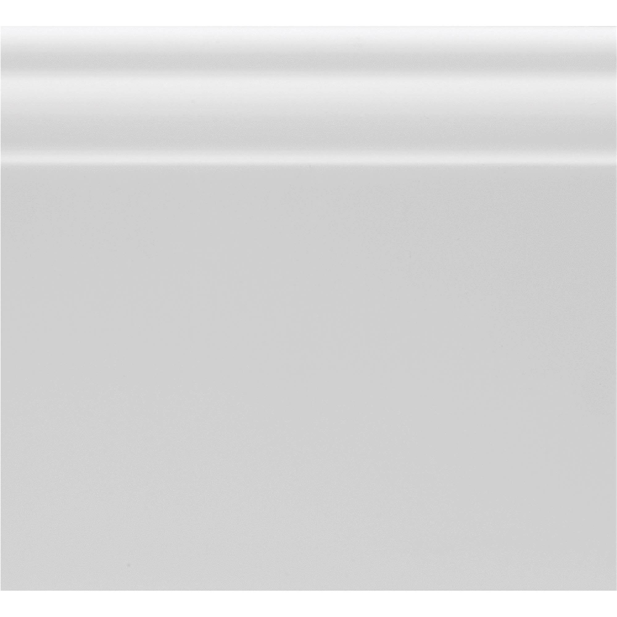 Royal Building Products Base Molding - White