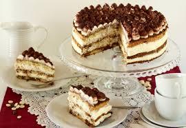 kaffee torte mit weißer schokosahne tiramisu torte
