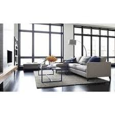 Crate And Barrel 2 Floor Lamps by Petrie Leather 2 Piece Left Arm Chaise Sectional Sofa Crates
