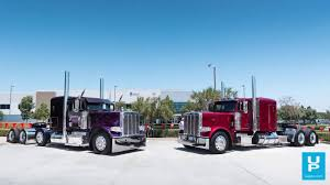100 Rmds Trucking Quick Look Two Clean Peterbilts From Yamko And TS YouTube